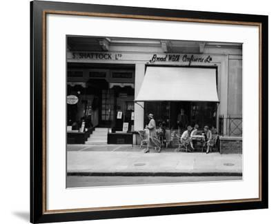 Morning Coffee--Framed Photographic Print