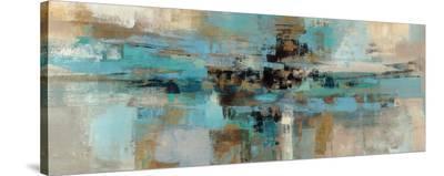 Morning Fjord-Silvia Vassileva-Stretched Canvas Print