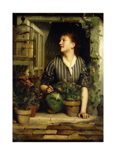 Morning Glories, 1874-Emile Levy-Giclee Print
