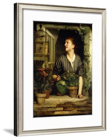 Morning Glories, 1874-Emile Levy-Framed Giclee Print