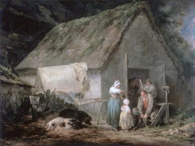 Morning: Higglers Preparing for Market, 1791-George Morland-Giclee Print