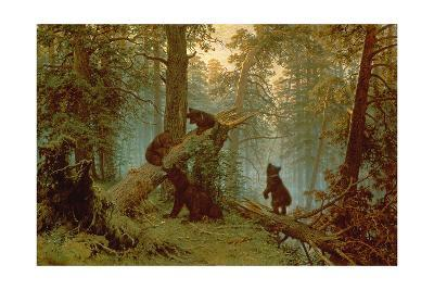 Morning in a Pine Forest, 1889-Ivan Ivanovitch Shishkin-Giclee Print