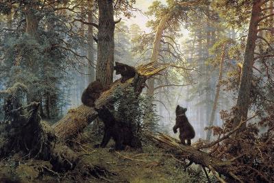 Morning in a Pinewood, 1889-Ivan Shishkin-Giclee Print