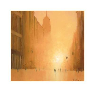 Morning Light - 5th Avenue-Jon Barker-Art Print