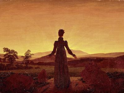 Morning Light-Caspar David Friedrich-Giclee Print