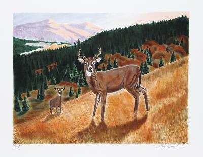 Morning Meadow-Allen Friedman-Limited Edition