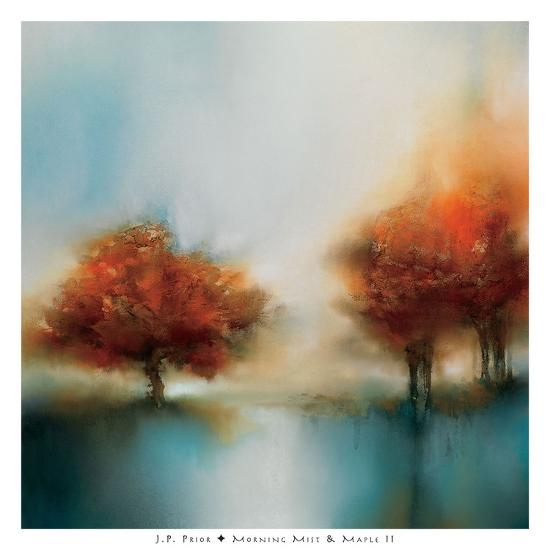 Morning Mist & Maple II-J^P^ Prior-Art Print