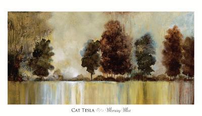 Morning Mist-Cat Tesla-Art Print
