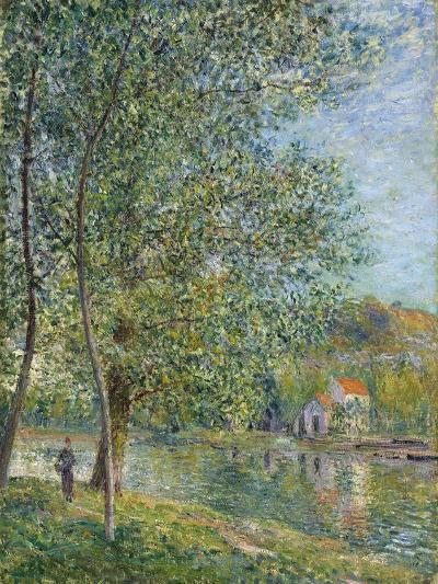 Morning Near the Loing; Matin Pres Du Loing, 1879-Alfred Sisley-Giclee Print