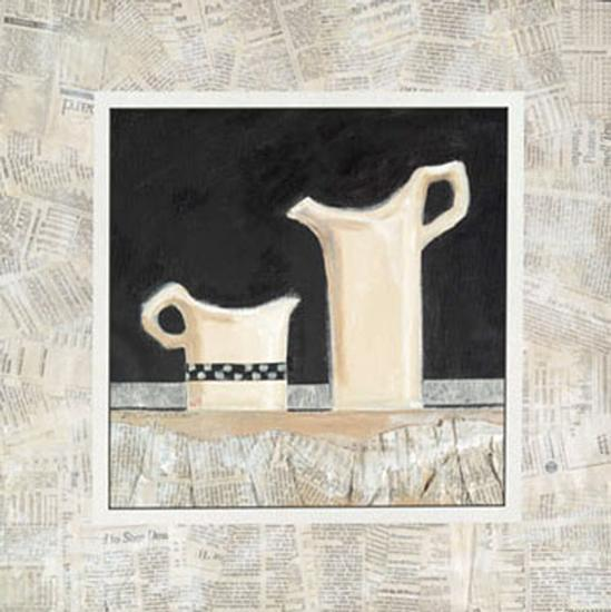 Morning News II-Rosalind Oesterle-Art Print
