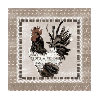 Morning News VII-Janelle Penner-Art Print