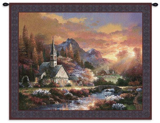 Morning of Hope-James Lee-Wall Tapestry