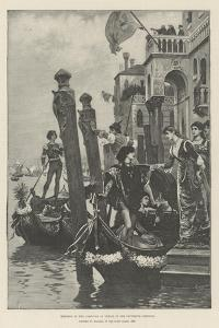 Morning of the Carnival at Venice in the Fifteenth Century
