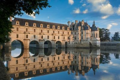Morning on Chateau Chenonceau, Indre-Et-Loire, Centre, France-Brian Jannsen-Photographic Print