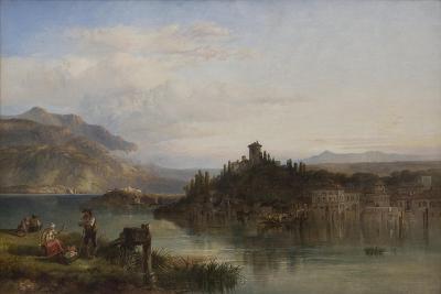 Morning on Lake Garda, Italy, 1861-James Vivien de Fleury-Giclee Print