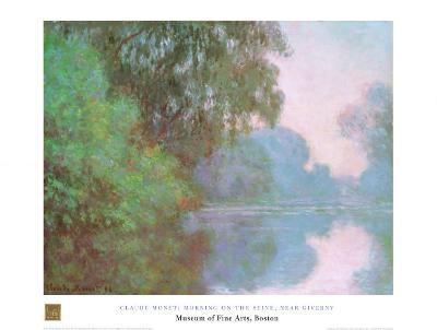 Morning On Seine-Claude Monet-Art Print