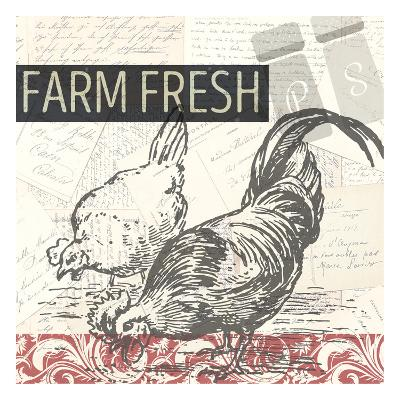Morning on the Farm-Kimberly Allen-Art Print