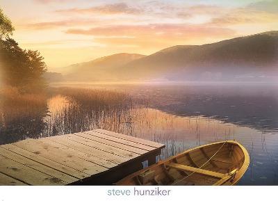 Morning on the Lake-Steve Hunziker-Art Print