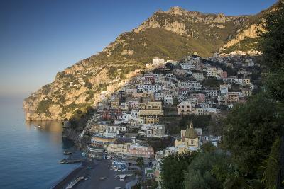 Morning on the Mountains Above Positano, Amalfi Coast, Campania, Italy-Brian Jannsen-Photographic Print