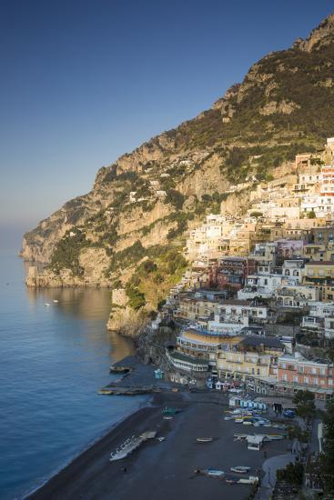 Morning on the Mountains Above Positano, Amalfi Coast, Campania, Italy-Brian Jannsen-Photographic Print