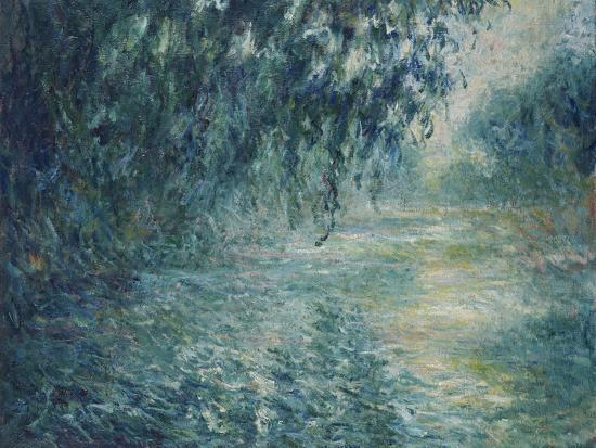 Morning on the Seine, 1898-Claude Monet-Premium Giclee Print