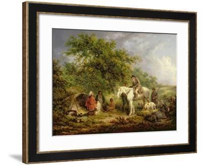 Morning, or the Benevolent Sportsman, 1792-George Morland-Framed Giclee Print