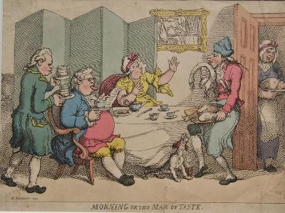 Morning or the Man of Taste, 1781-Henry William Bunbury-Giclee Print