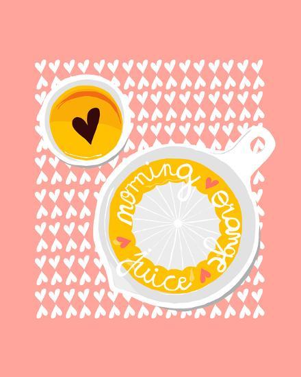 Morning Orange Juice-Myriam Tebbakha-Giclee Print