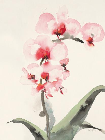Morning Orchid 2-Karin Johannesson-Premium Giclee Print