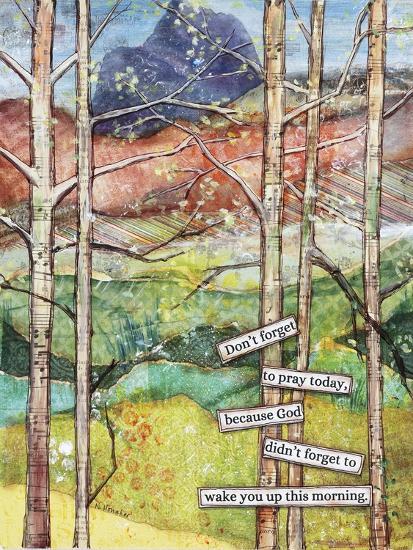 Morning Prayer-Let Your Art Soar-Giclee Print