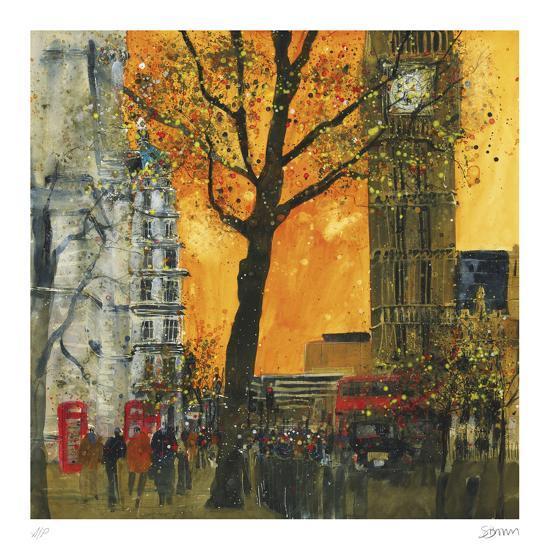 Morning Rush, London-Susan Brown-Collectable Print