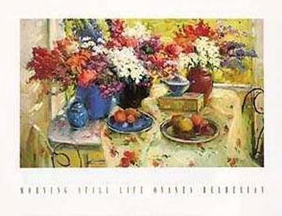 Morning Still Life-Ovanes Berberian-Art Print