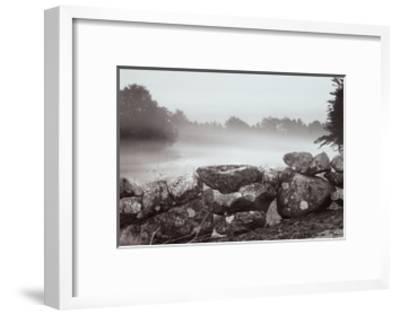 Morning Stone Wall-Mattias Nilsson-Framed Art Print
