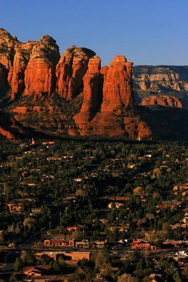 Morning Sunlight on the Red Rocks Rock Formation-Babak Tafreshi-Photographic Print