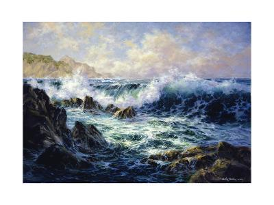 Morning Surf-Nicky Boehme-Giclee Print