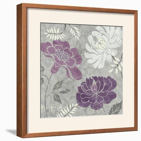 Morning Tones Purple I-Daphne Brissonnet-Framed Photographic Print