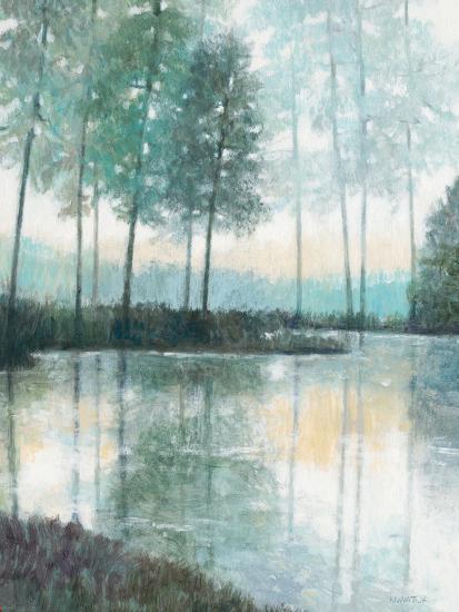 Morning Trees 2-Norman Wyatt Jr^-Art Print
