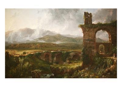 Morning View Near Tivoli-Thomas Cole-Art Print