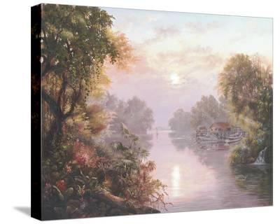 Morning View-Klaus Strubel-Stretched Canvas Print