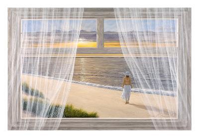 Morning Walk-Diane Romanello-Art Print