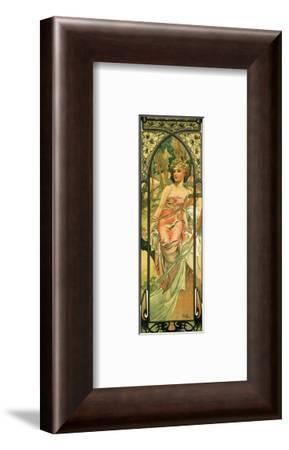 Morning-Alphonse Mucha-Framed Premium Giclee Print