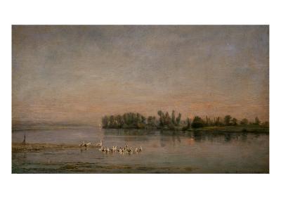 Morning-Charles-Francois Daubigny-Giclee Print