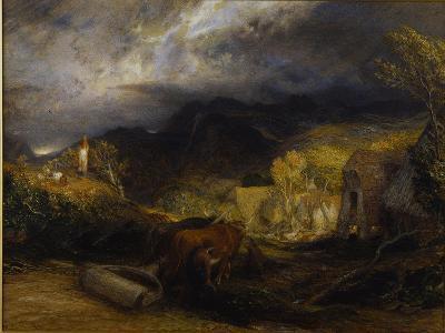Morning-Samuel Palmer-Giclee Print