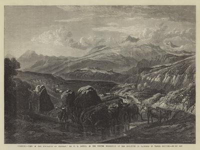 Morning-William Leighton Leitch-Giclee Print