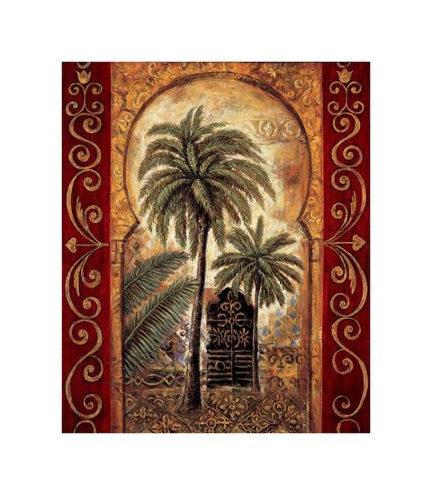 Moroccan Collage I-Eduardo Moreau-Giclee Print