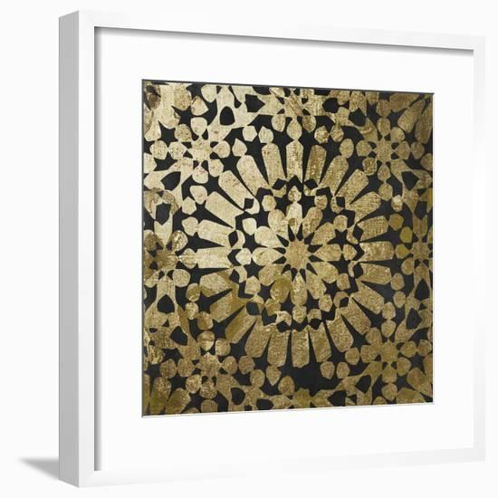 Moroccan Gold III-Color Bakery-Framed Giclee Print