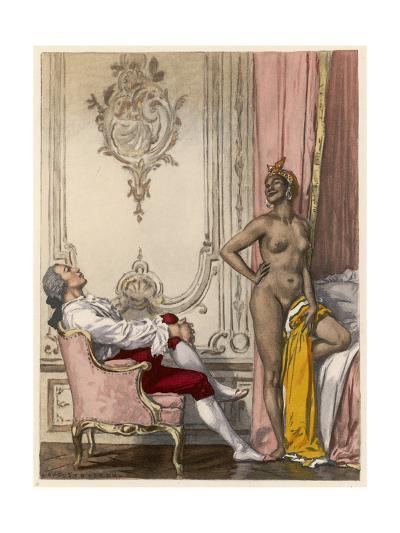 Moroccan Mistress-Auguste Leroux-Giclee Print