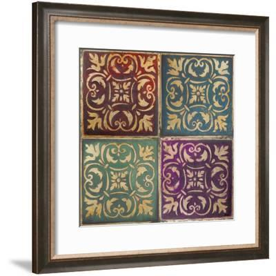 Moroccan Mosaic Patch I-Patricia Pinto-Framed Art Print