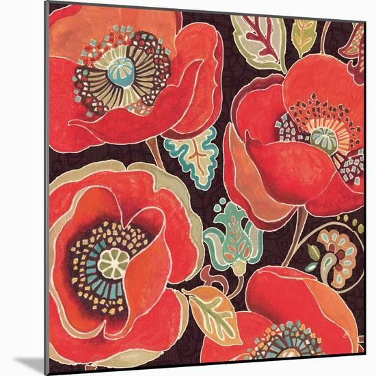 Moroccan Red IV-Daphne Brissonnet-Mounted Premium Giclee Print