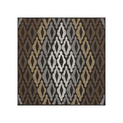Moroccan Tile with Diamond (Neutrals)-Susan Clickner-Giclee Print